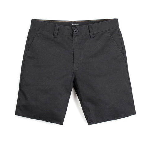 Brixton Toil II Hemmed Short Black Sale