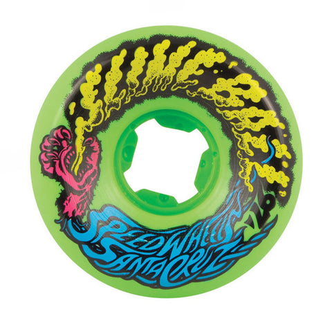Santa Cruz Slime Balls Vomit Mini's 56mm 97a Green