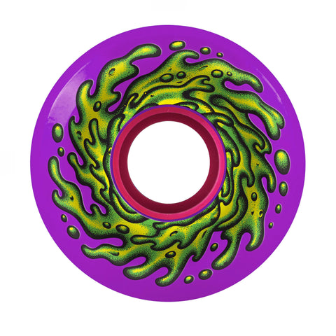Santa Cruz Slime Balls OG Slime Purple 97a 60mm