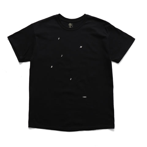 Smile + Wave Freedom T-Shirt Black Sale