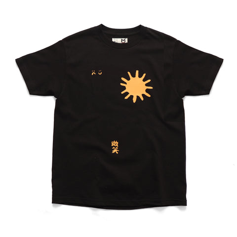 Smile + Wave Nature Again T-Shirt Black