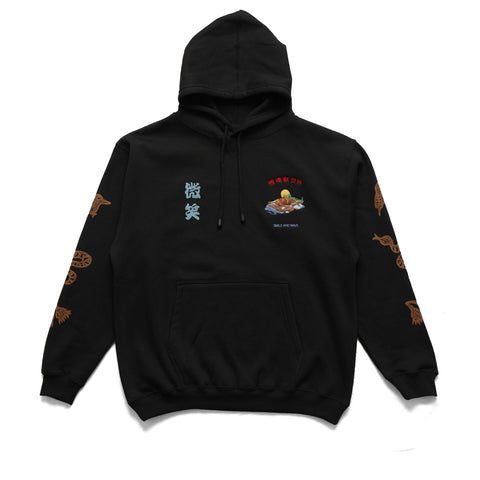 Smile + Wave Platypus World Hoody Black