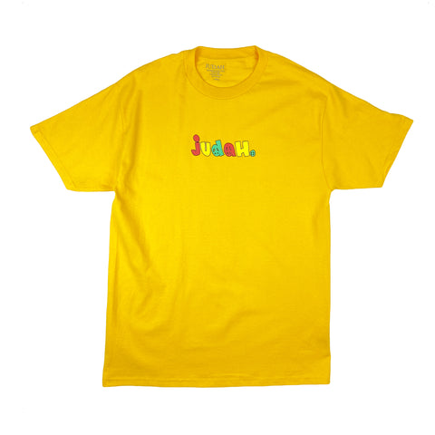 Judah Peace Short Sleeve Tee Gold