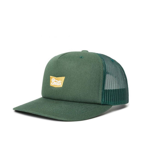 Brixton Stith MP Mesh Cap Emerald