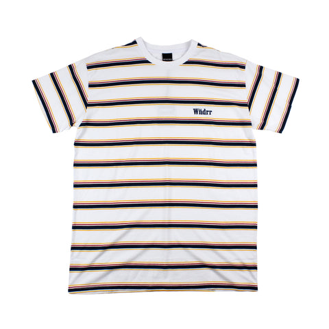 WNDRR Max Stripe Custom Fit Tee
