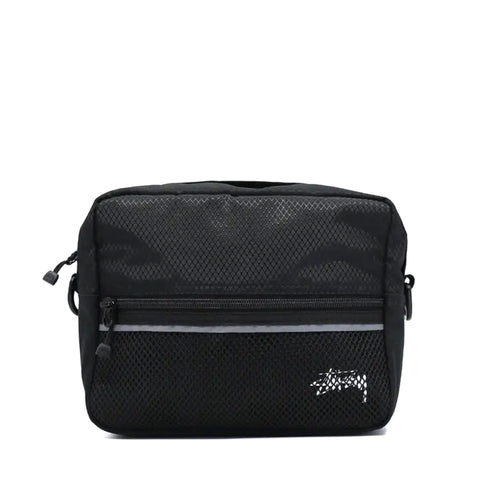 Stussy Stock Ripstop Shoulder Bag Black