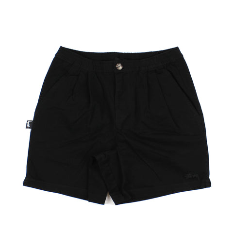 Stussy Stock Short Button Black