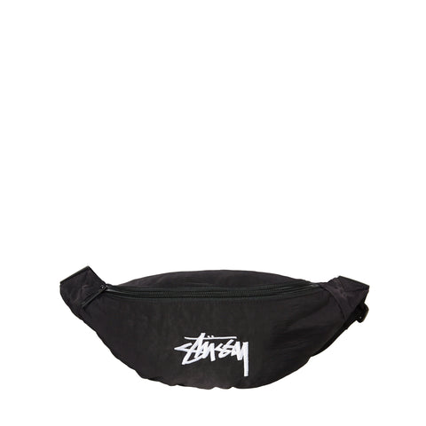 Stussy Stock Waist Bag Black