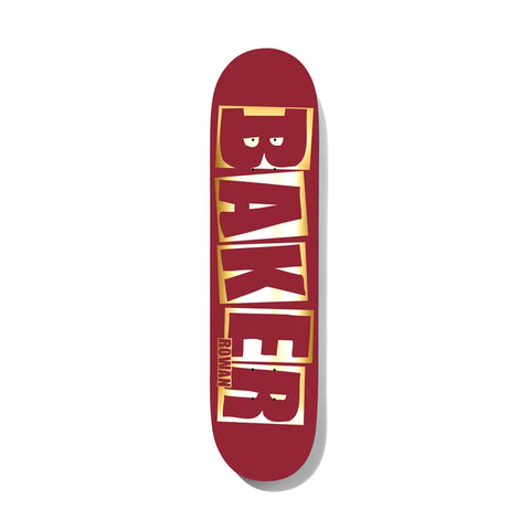 Baker Rowan Brand Name Red/Foil 8.38
