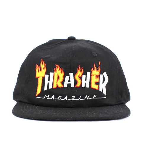 fb22d491602 Thrasher Flame Mag Snapback Black – Locality Store