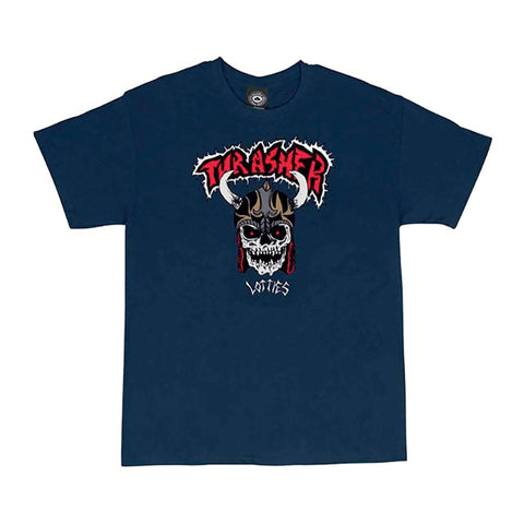 Thrasher Lotties Tee Navy