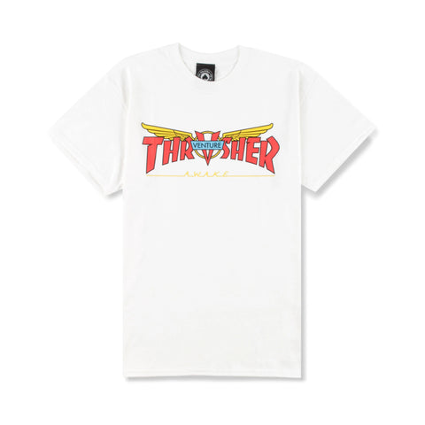 Thrasher Venture Tee White Sale