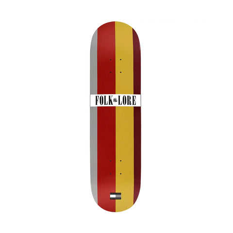 Folklore Tommy Red Brown Warm Press Deck 8.25