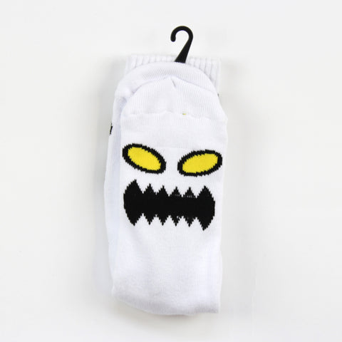 Toy Machine Angry Socks White