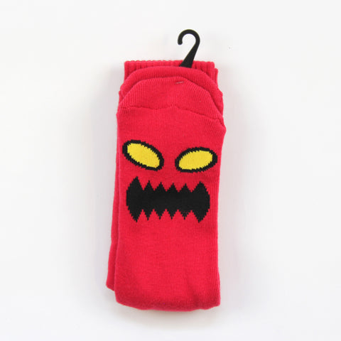 Toy Machine Socks Red