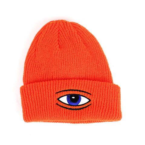 Toy Machine Eye Beanie Orange