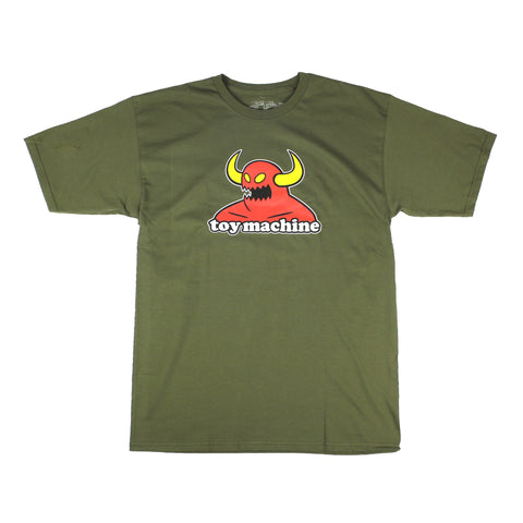 Toy Machine Monster Tee Military Sale