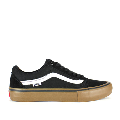 Vans Old Skool Pro Black/Gum