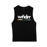 WNDRR VHS Muscle Top Black