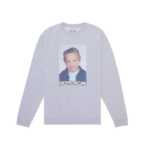 FA Vincent Touzery Class Photo Crewneck Grey