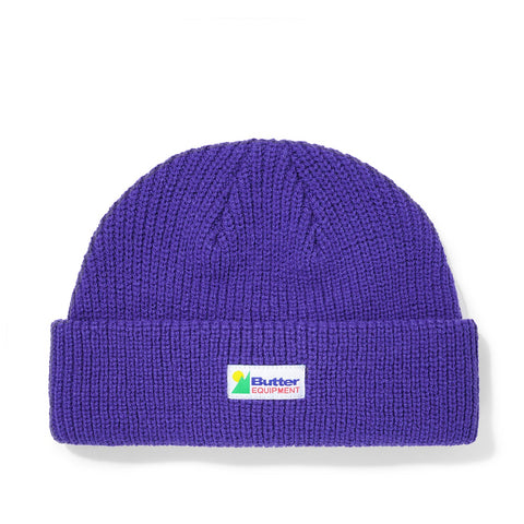 Butter Goods Equipment Wharfie Beanie Violet