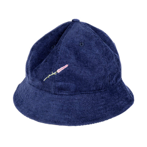Passport Lavender Bucket Hat Navy
