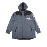 WNDRR Offcut Anorak Jacket Black/Grey