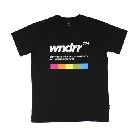 WNDRR Recorder Custom Fit Tee Black