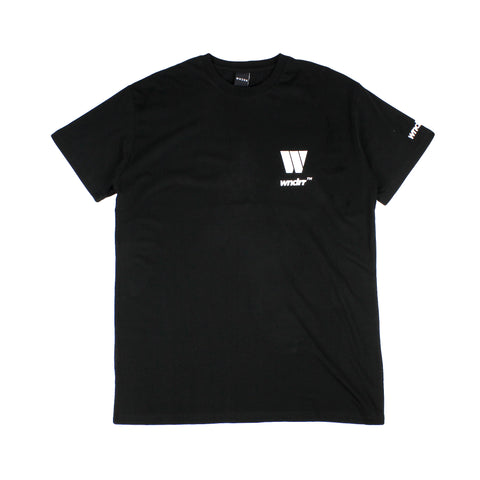 WNDRR Motown Custom Fit Tee Black