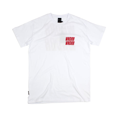 WNDRR Vandals Custom Fit Tee White Sale