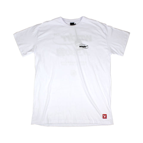 WNDRR Infinity Custom Fit Tee White Sale