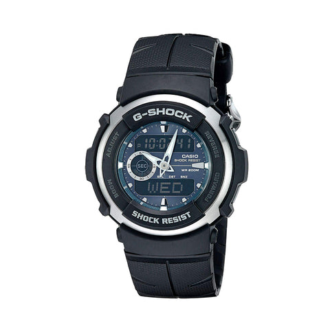 Casio G-Shock Biker Round Black Resin