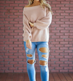 Dahlia Blush Sweater