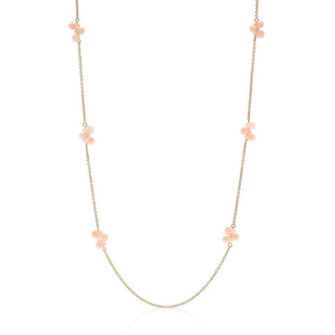 36 Inch Beaded Station Necklace - shophomegardens.com