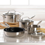 8 Pc. Stainless Steel Cookware Set - shophomegardens.com
