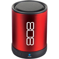 808 Bluetooth Portable Speaker (red) - shophomegardens.com