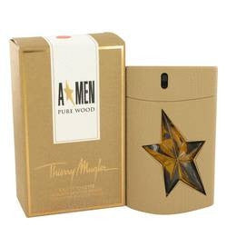 Angel Pure Wood Cologne by Thierry Mugler for men - shophomegardens.com