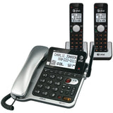 Att Dect6.0 Corded And Cordless Phone With Call Waiting & Caller Id, 2-handset - shophomegardens.com