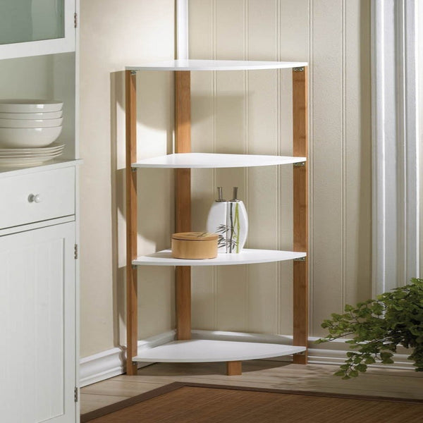 Bamboo Corner Shelf - shophomegardens.com