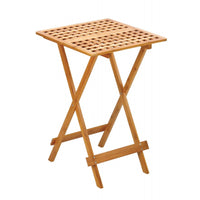 Bamboo Wood Folding Tray Table - shophomegardens.com