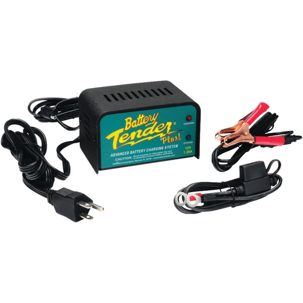 Battery Tender 12-volt 1.25-amp Battery Charger - shophomegardens.com