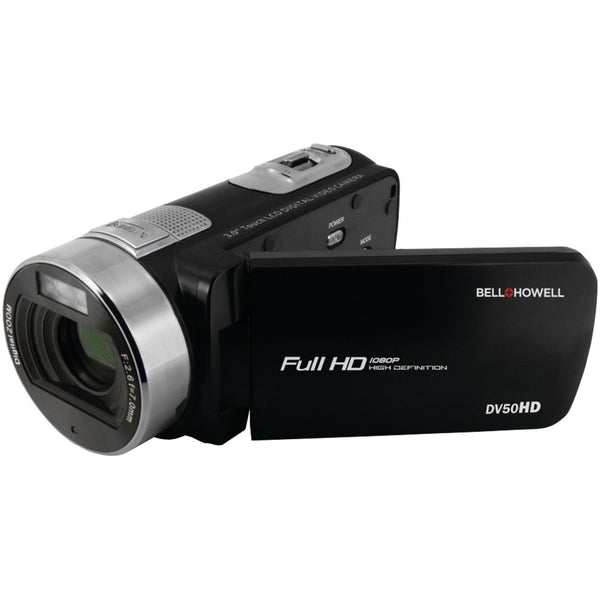 Bell+howell 20.0-megapixel 1080p Dv50hd Fun-flix Camcorder (black) - shophomegardens.com