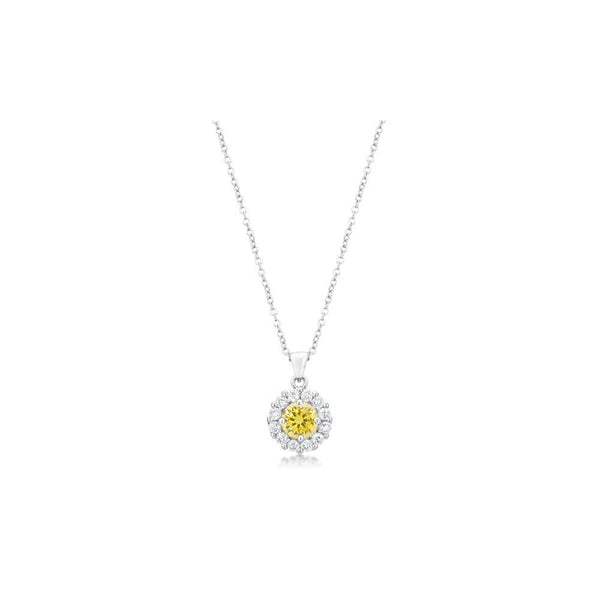 Bella Bridal Pendant In Yellow - shophomegardens.com