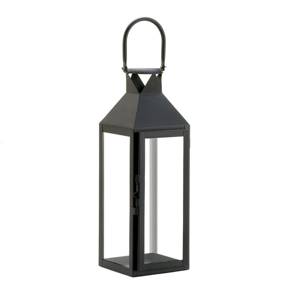 Black Manhatten Lantern - shophomegardens.com