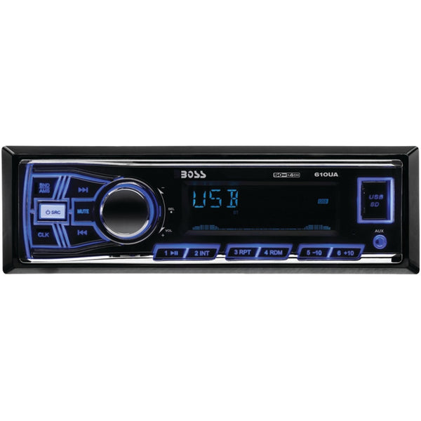 Boss Audio Single-din In-dash Mechless Am And Fm Receiver (without Bluetooth) - shophomegardens.com