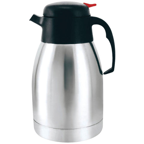 Brentwood 1.2 Liter Vacuum Coffee Pot Stainless Steel - shophomegardens.com
