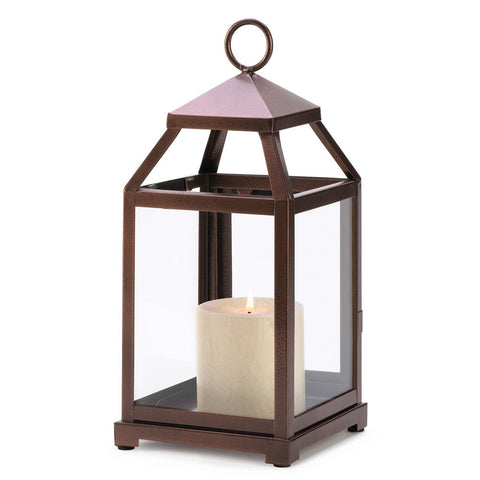 Bronze Contemporary Lantern - shophomegardens.com
