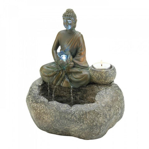 Buddha Tabletop Fountain - shophomegardens.com