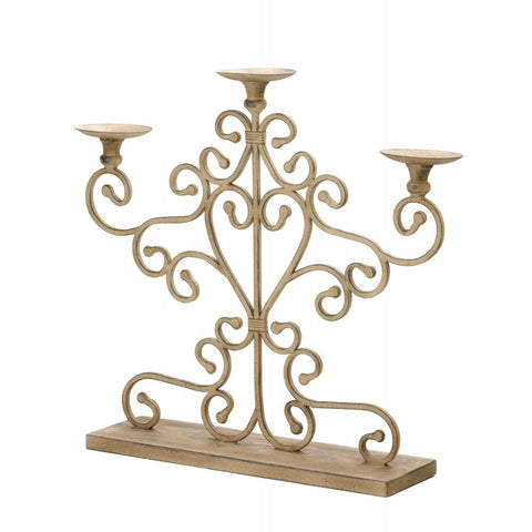 Cast Iron Candleabra - shophomegardens.com