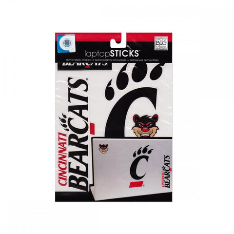 Cincinnati Bearcats Removable Laptop Stickers - shophomegardens.com